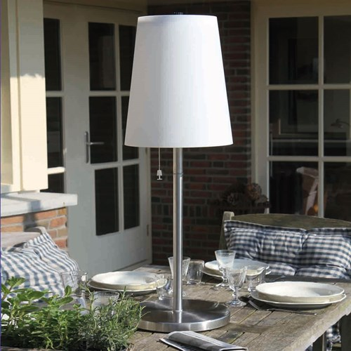 Lampade solari da giardino living luminal park - Lampade da esterno solari ...