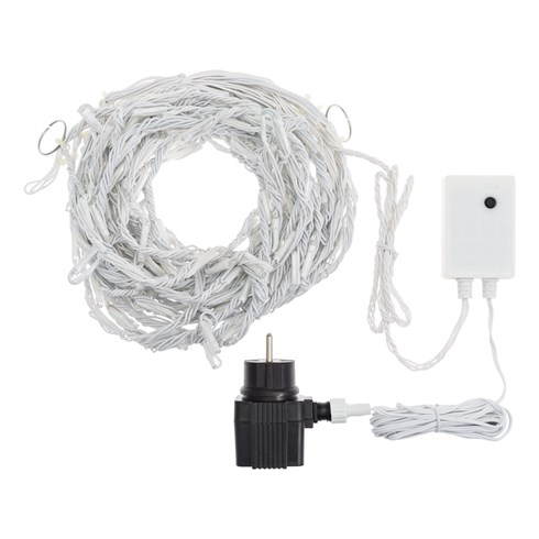 Stalactite Snow light 3 x 0,8 m, 192 led blanc chaud