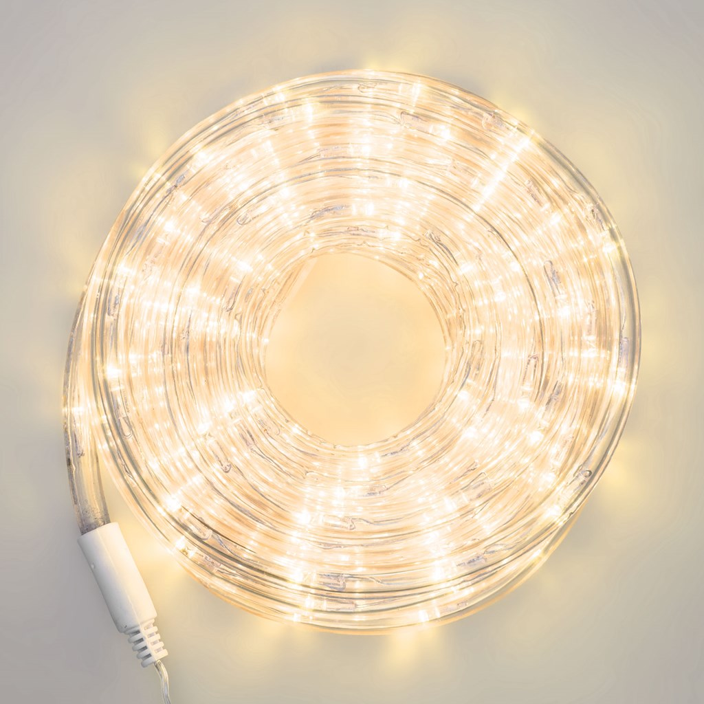 Tube Lumineux 9 M 10 Mm 36v 216 Led Blanc Chaud Tube Led D Coratif
