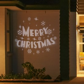 Proyector navideño Led Merry Christmas