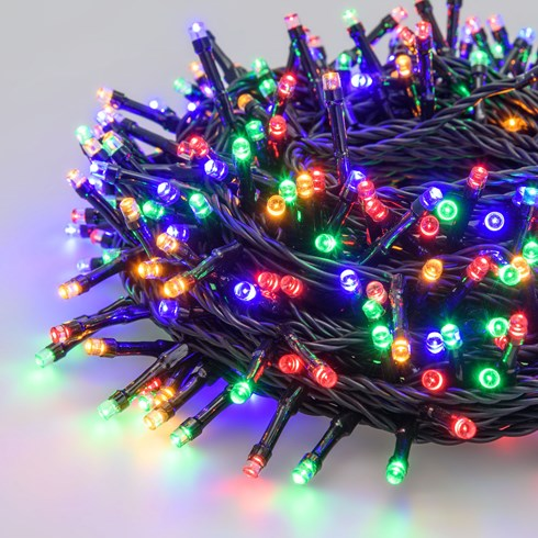 Catena 21,5 m, 300 led multicolor ultraluminosi