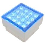 LED-Fliese blau, 1,5W, 100x100 mm