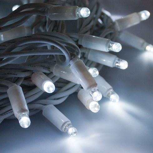 lichterkette 20 m 200 maxi leds kaltwei wei es kabel erweiterbar lichterketten. Black Bedroom Furniture Sets. Home Design Ideas