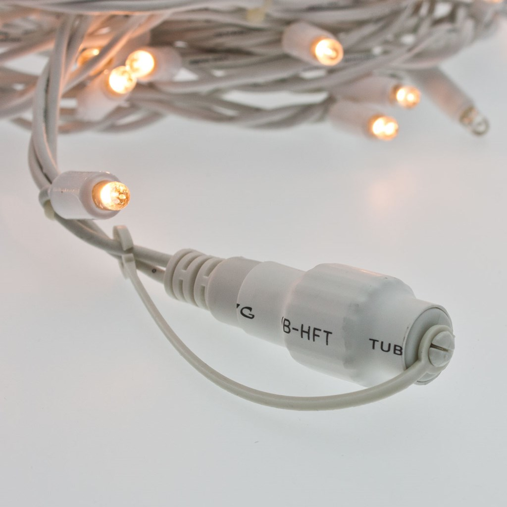 Lichterkette 20 m 200 maxi leds warmwei wei es kabel - Lichterkette ohne kabel ...