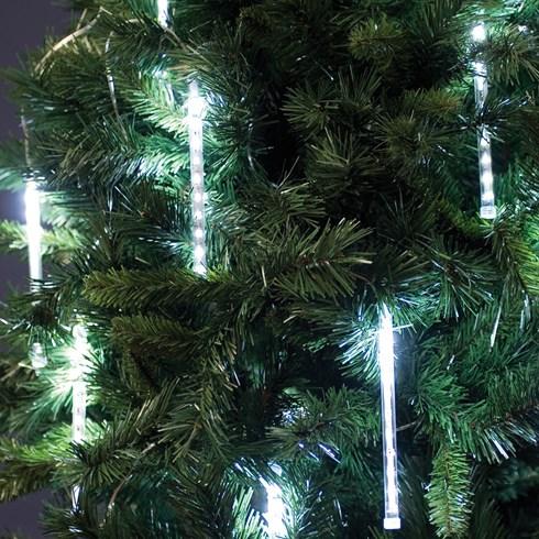 lichterkette 16 m 20 led leuchtst be 200 leds kaltwei gr nes kabel schneefall lichter. Black Bedroom Furniture Sets. Home Design Ideas