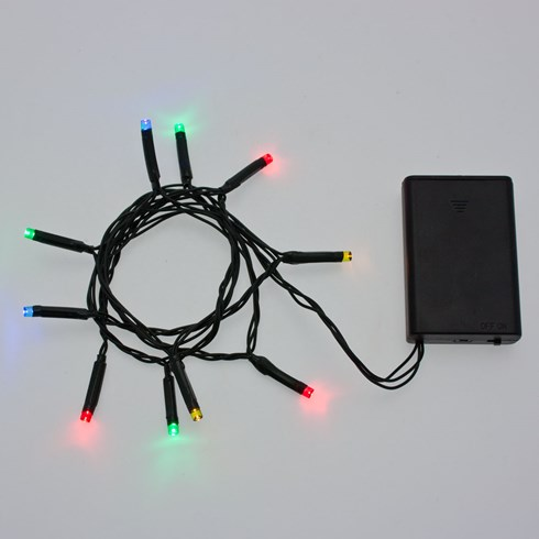 Guirlande de 90 cm, 10 led multicolor