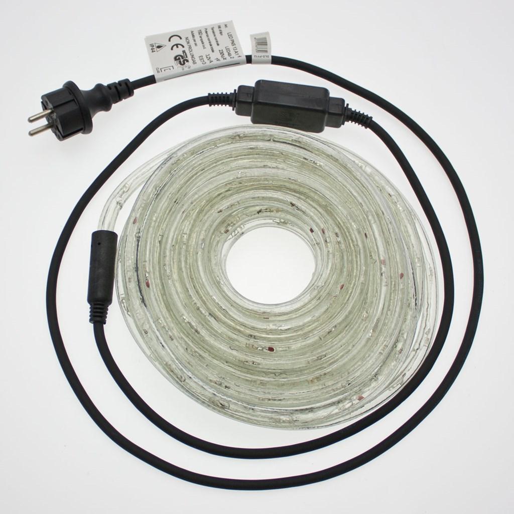 250df891106 Manguera de luces Led blanco cálido con destellos Ø 13 mm 230V