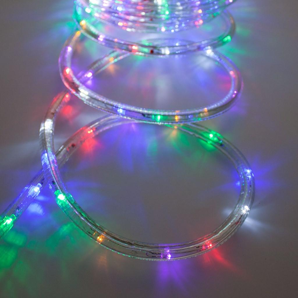 f74de1c2263 Manguera de luces Led multicolor con destellos Ø 13 mm 230V