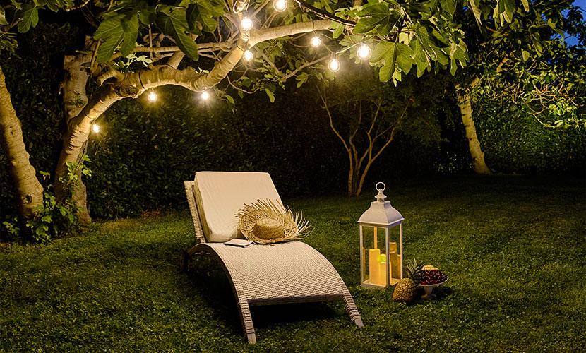 Conosciuto Festa in giardino: 4 idee originali fai-da-te | Luminalpark PV49