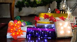 Decorazioni Luminose Natalizie Fai Da Te : Semplici decorazioni fai da te per la casa luminal park