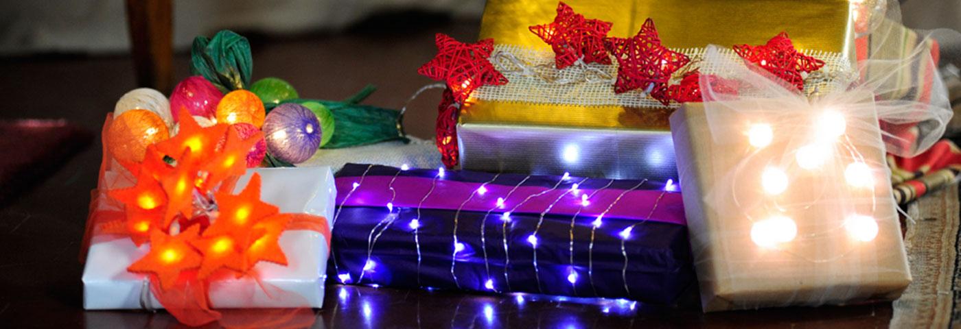 Pacchi Natale Luminosi.5 Idee Per I Tuoi Pacchetti Regalo Luminal Park