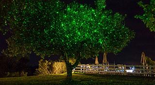 Illuminazione esterna ville e giardini a luce led