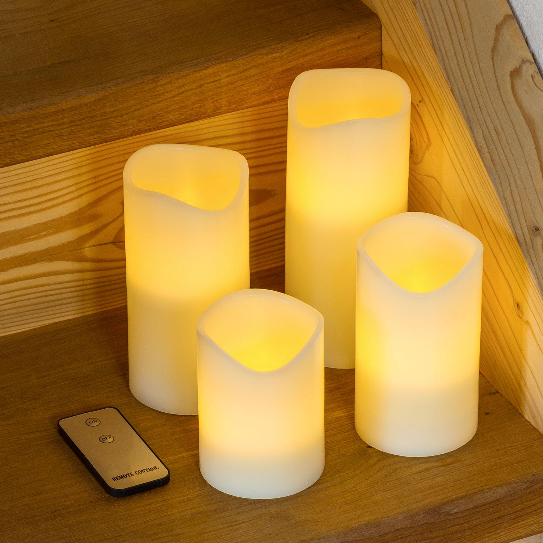 Candele led i vantaggi rispetto alle candele tradizionali for Decorazione stanza romantica