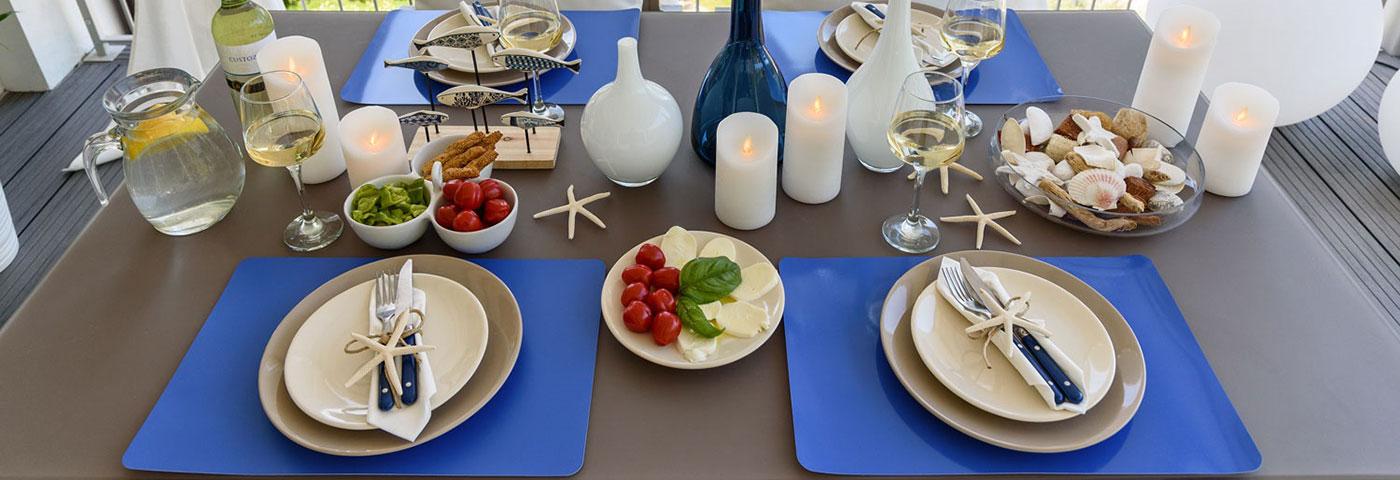 Ideas para decorar la mesa luminal park for Idee per una cena di compleanno