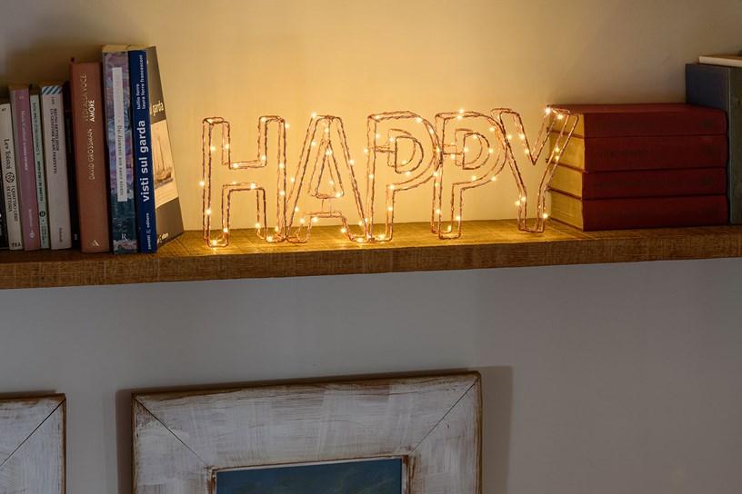 10 idee per decorare e abbellire la casa con le luci for Luci per decorare la stanza