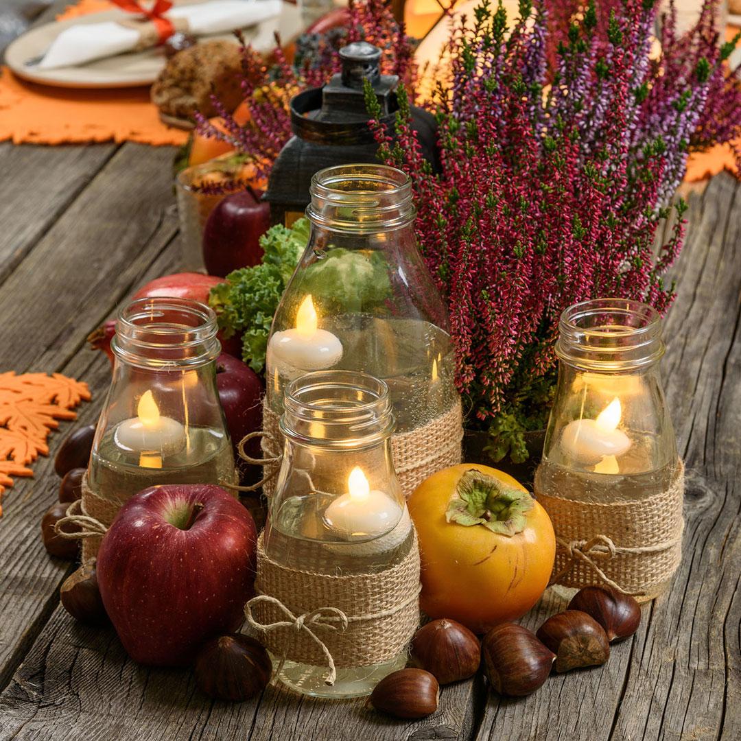 Idee di decorazione fai da te per la casa in autunno - Idee fai da te per la casa ...