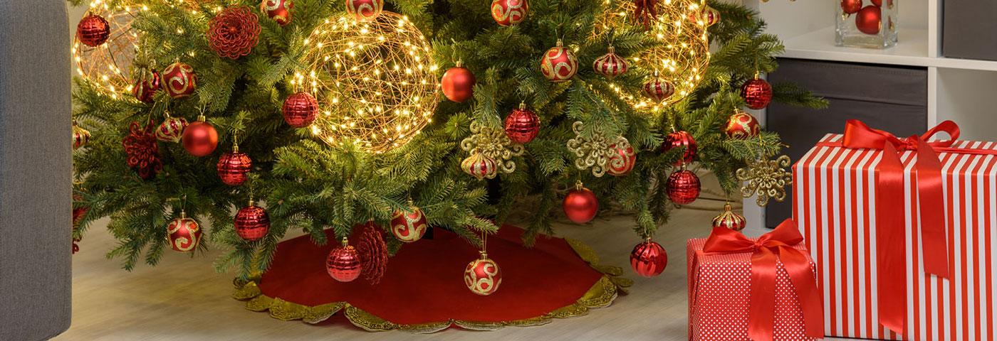 Cómo Decorar La Base Del árbol De Navidad Luminal Park