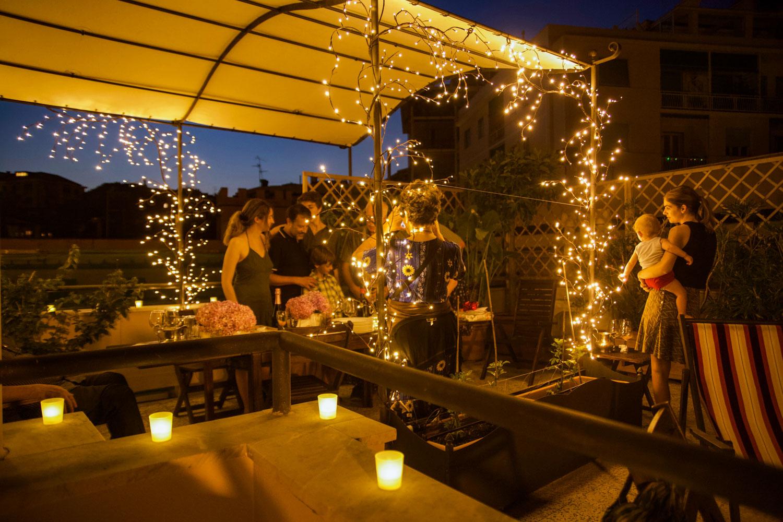 Idee Centrotavola Per Una Festa In Terrazza Luminal Park