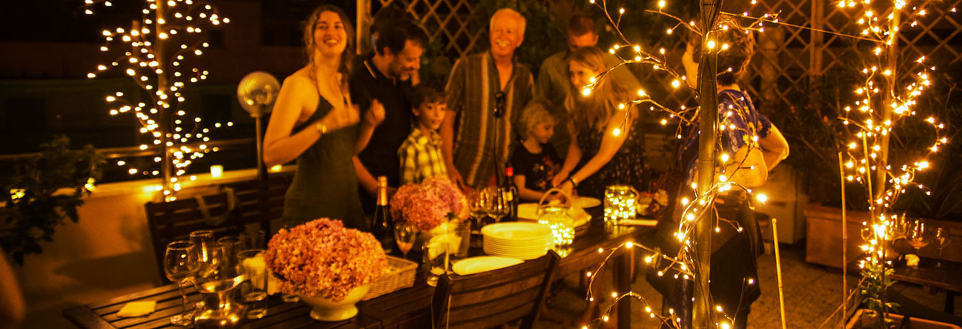Idee Centrotavola per una Festa in Terrazza | Luminal Park