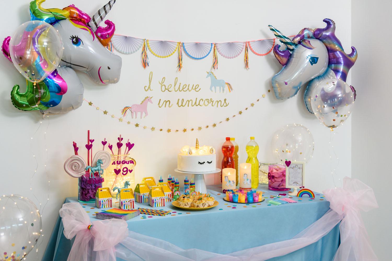 Come organizzare una festa a tema unicorno luminal park for Tavolo unicorno