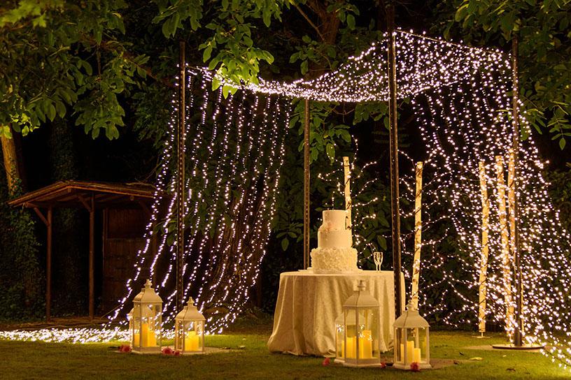 Resultado de imagen para decoracion con luces de navidad para bodas