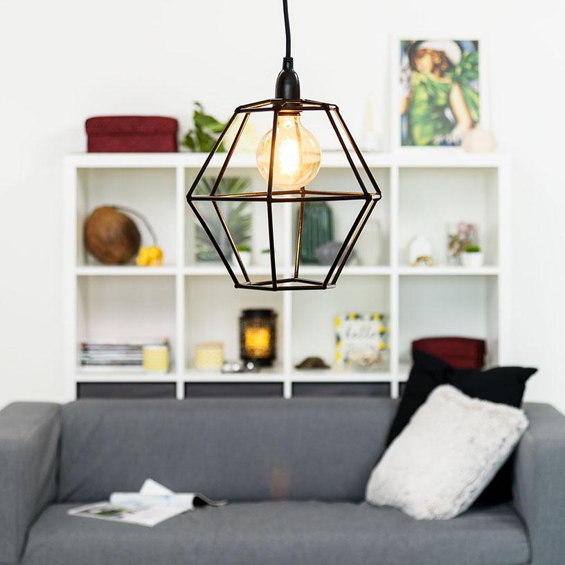 una caseraLuminal lámpara de Cómo hacer Park techo UMpSzV