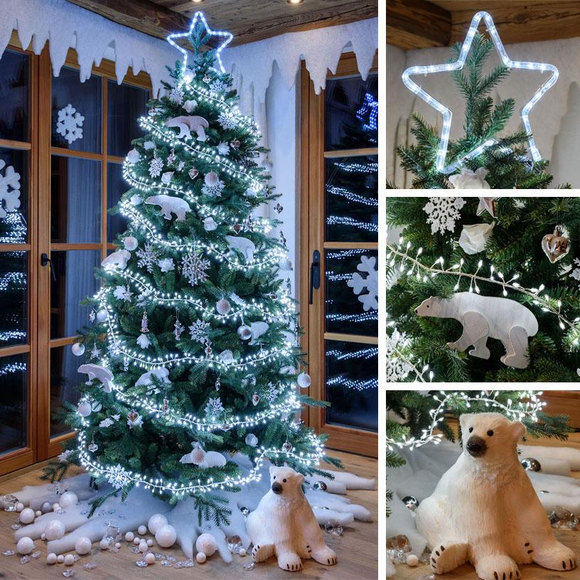 Weihnachtsbaum Silber Weiß.18 Ideen Für Den Weihnachtsbaum 2018 Luminal Park