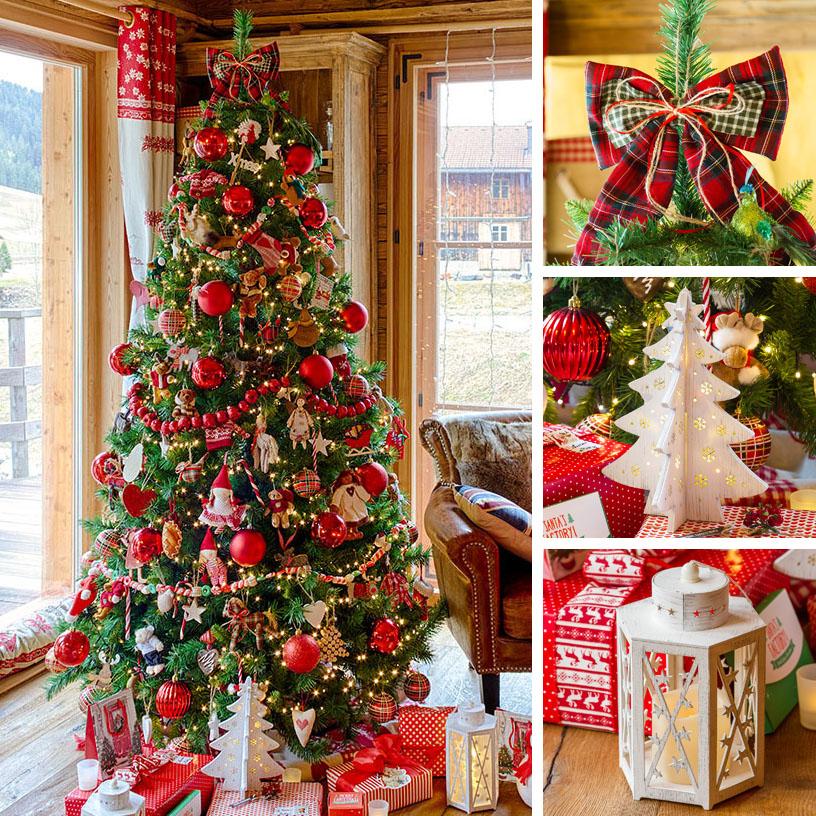Immagini Di Alberi Di Natale Decorati.18 Idee Per Alberi Di Natale Originali Luminal Park