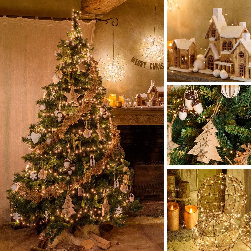 6c84b19540a 18 ideas para decorar el árbol de Navidad