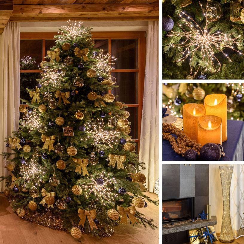 Albero Di Natale Nero E Oro.18 Idee Per Alberi Di Natale Originali Luminal Park