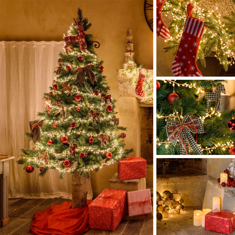 Addobbi Albero Di Natale.18 Idee Per Alberi Di Natale Originali Luminal Park