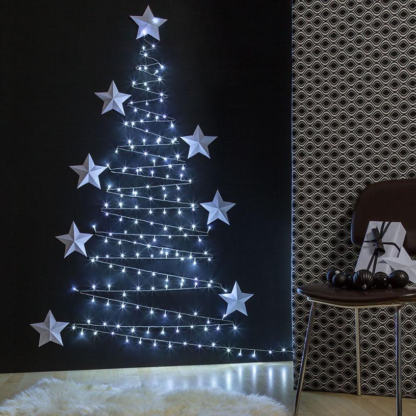 Alberi Di Natale Da Parete : Idee per alberi di natale da parete luminal park