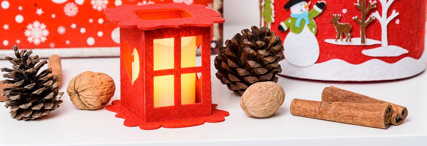 9b7cf5b5dff Cómo decorar los faroles en Navidad