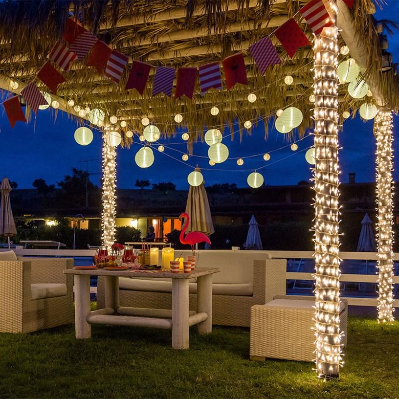 Festa in giardino 4 idee originali fai da te luminalpark for Addobbi da giardino