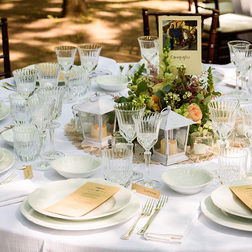 Centrotavola Matrimonio Tema Dolci : Illuminazione matrimonio tendenze luminal park
