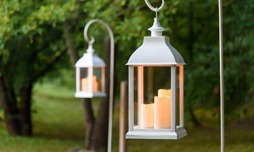 Candele Da Giardino Milano : Candele lanterne e candeline led tealight luminal park