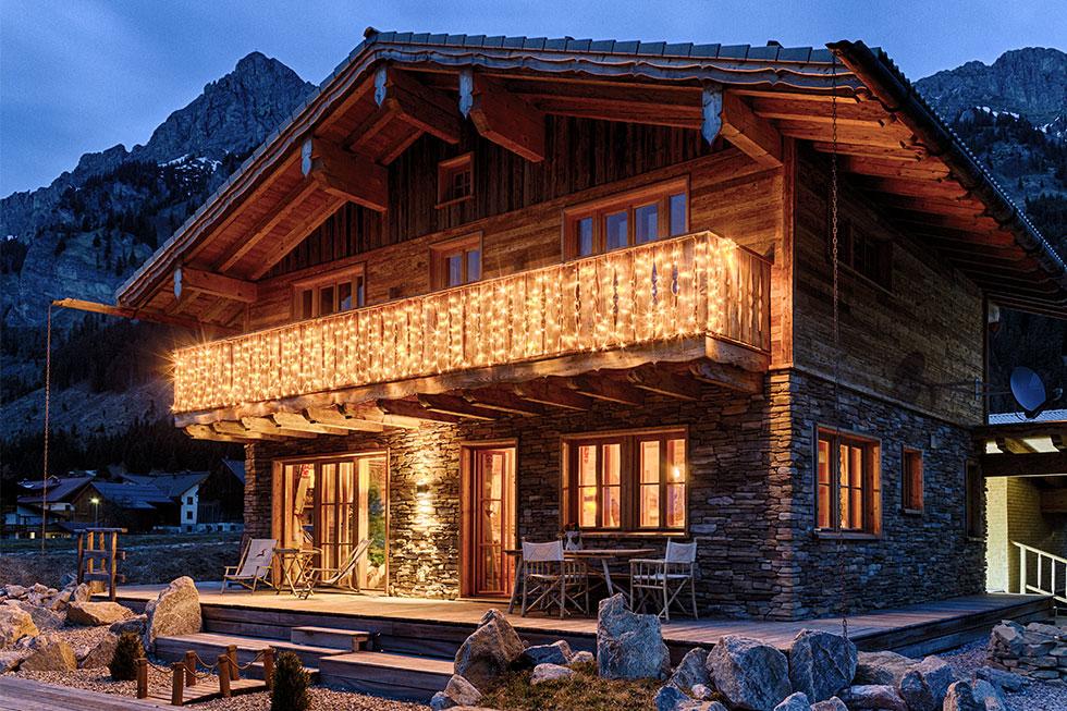 Luci natalizie per balconi e terrazzi | Luminal Park