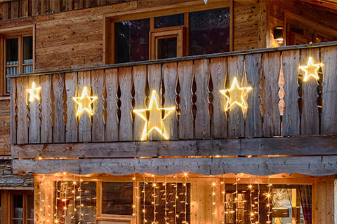 Luci natalizie per balconi e terrazzi   Luminal Park
