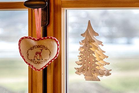 Decorazioni natalizie finestre e porte luminal park - Decorazioni natalizie per porte e finestre ...