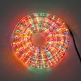 Tubo luminoso, 13 mm, 230V, 10 m, lampade multicolor ad incandescenza