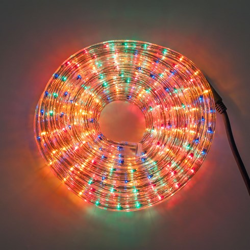 Tubo luminoso, 13 mm, 10 m, lampade multicolor