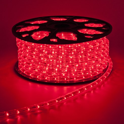 LED Lichtschlauch 30 m, rot