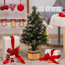 Immagini Di Alberi Di Natale Decorati.Alberi Di Natale Decorati Luminosi Luminal Park