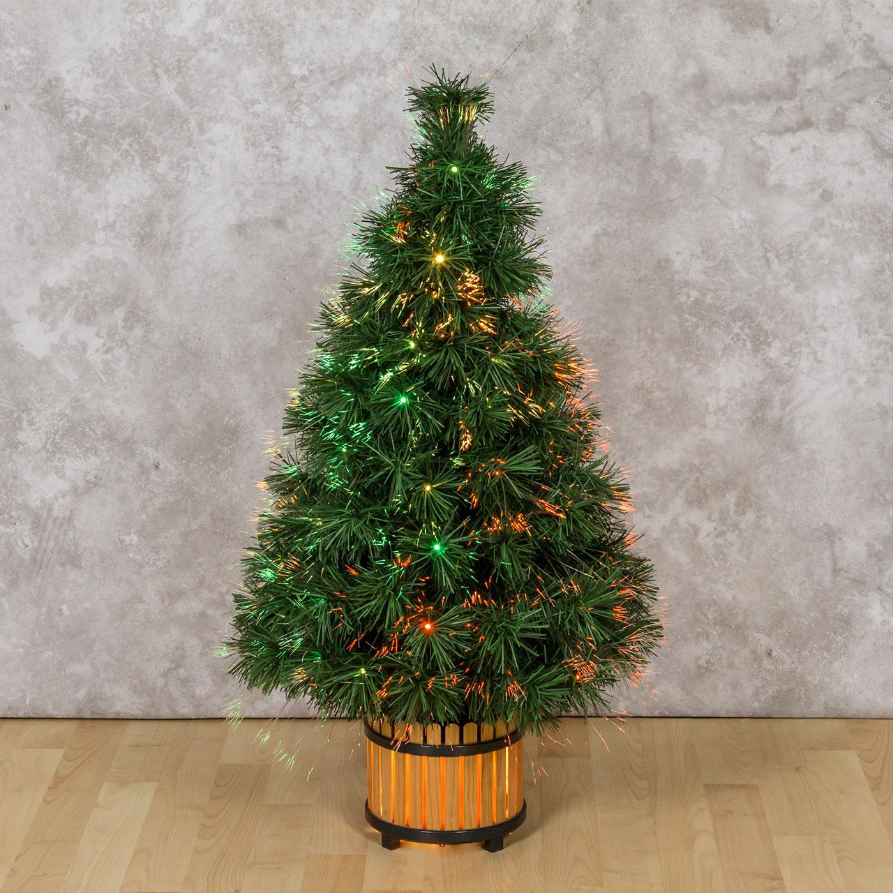 rboles y adornos de Navidad artificiales con luces Led Luminal Park