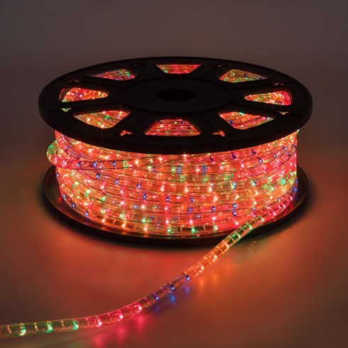 Tubo luminoso, 13 mm, 50 m, lampade multicolor