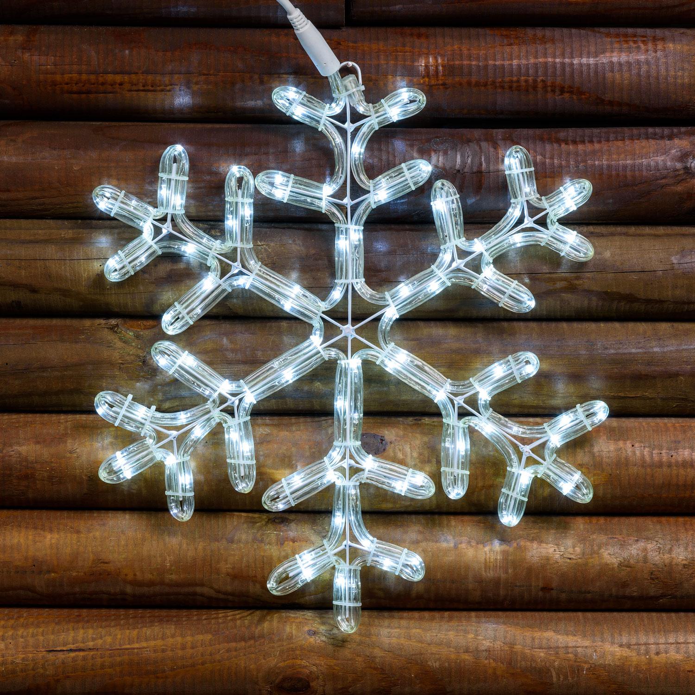 Flocon de neige, 40 x h. 44 cm, LED blanc froid