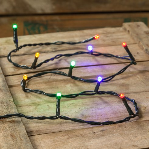 3 x Catena 1 m, 10 led multicolor