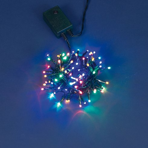 Guirlande 5 m, 100 miniled multicolor