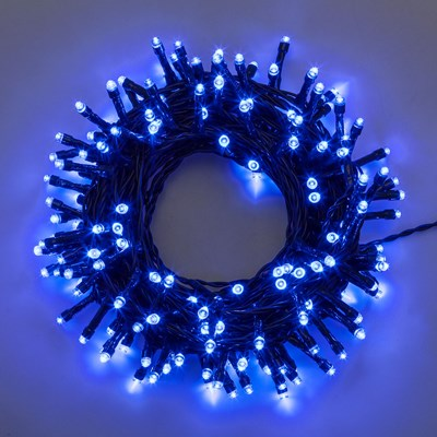 Catena 11,5 m, 160 led blu