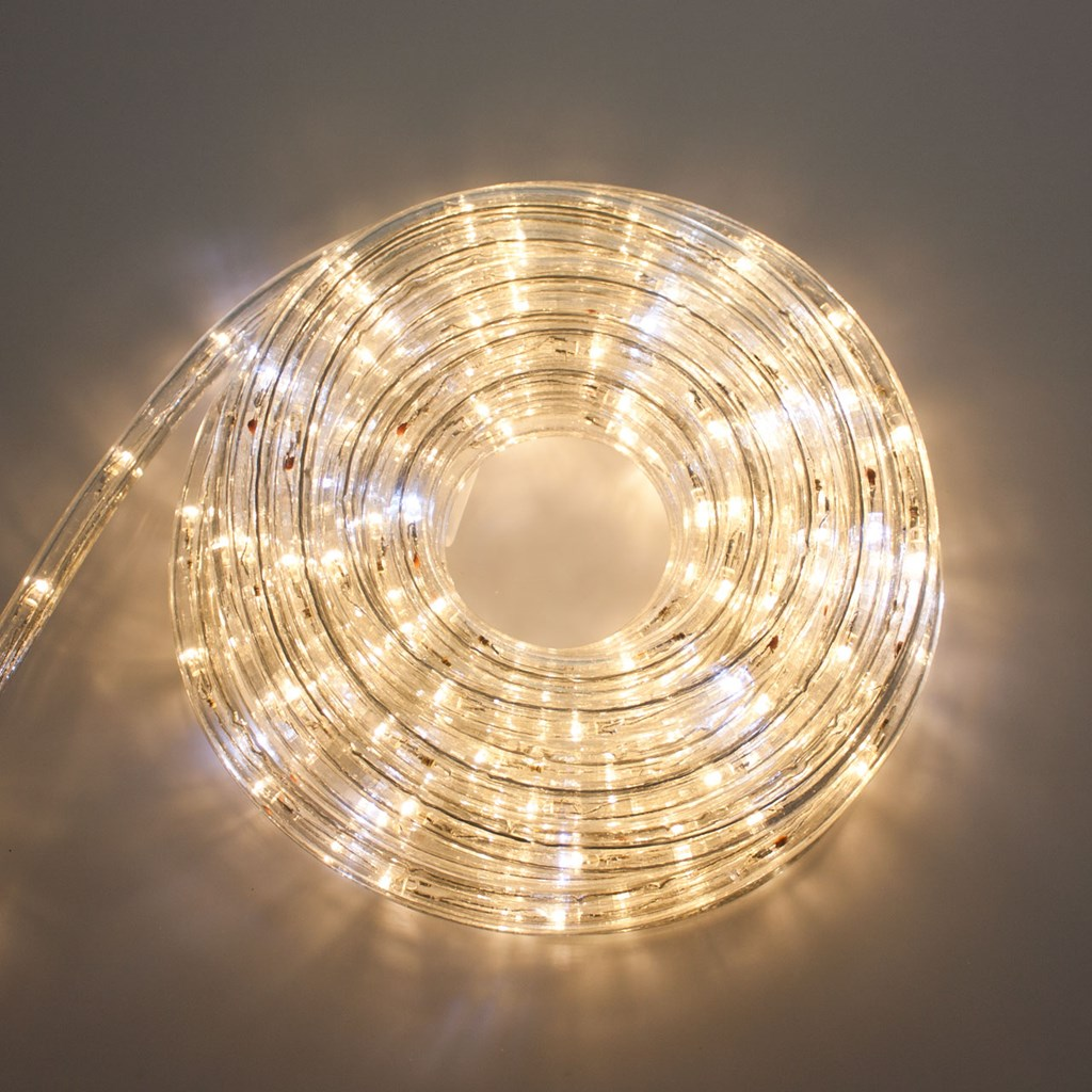 58f67abe1d8 Manguera de luces Led blanco cálido con destellos Ø 13 mm 230V